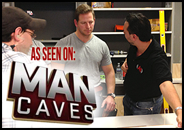 Man Caves: AVI was the AV Expert choice for Michael Strahan's new Home Office!