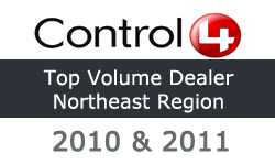 control4 top volume dealer northeast region