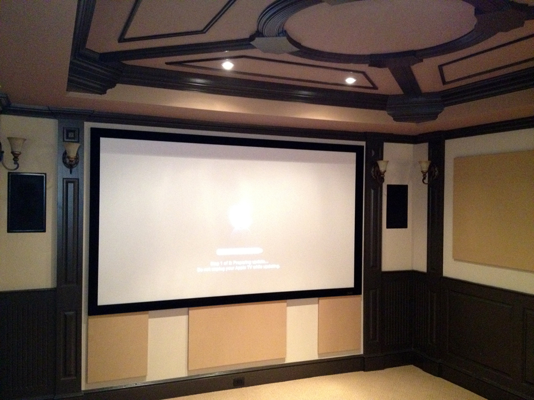 Dedicated Home Theater Room