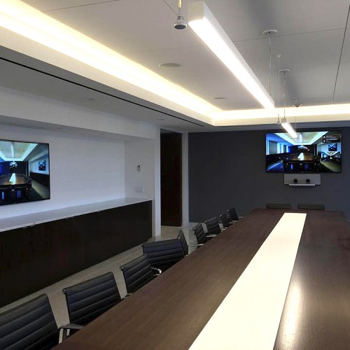 Corporate Boardroom with Cisco Telepresence