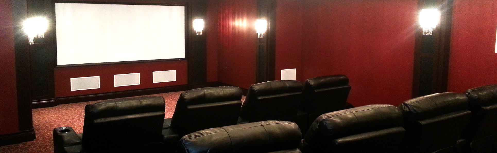 custom home theater system