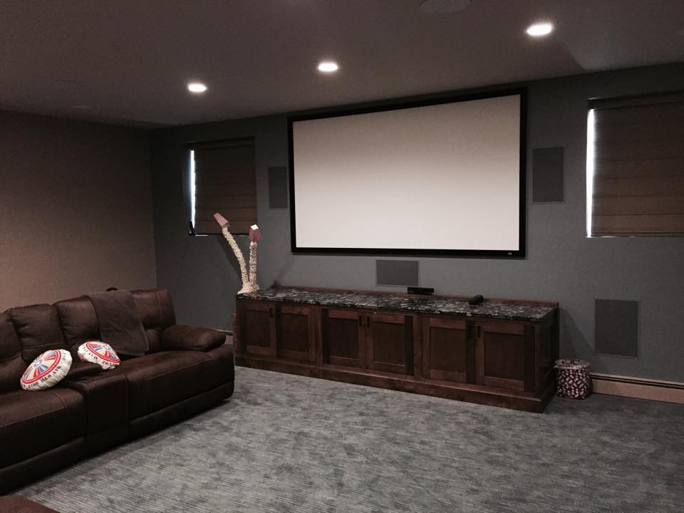 media room av installers long island nyc