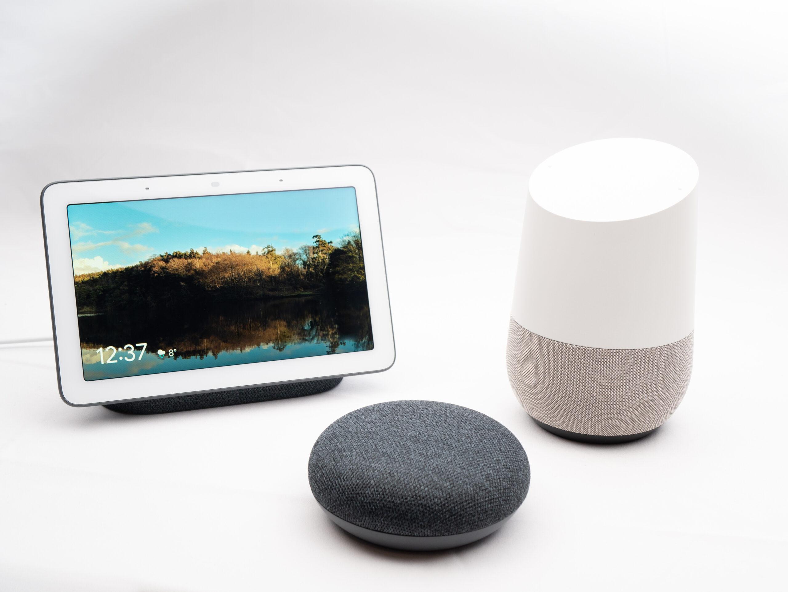 smart home devices google home ment alexa dot