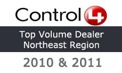 control4 top volume dealer northeast region