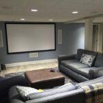 custom media room
