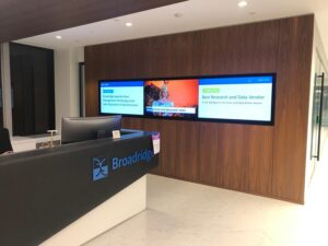 reception audio video systems