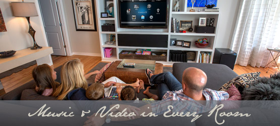 home video audio distribution